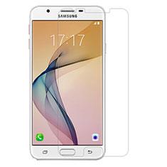Schutzfolie Displayschutzfolie Panzerfolie Skins zum Aufkleben Gehärtetes Glas Glasfolie für Samsung Galaxy J7 (2017) Duos J730F Klar