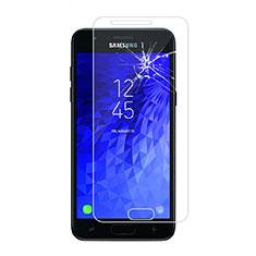 Schutzfolie Displayschutzfolie Panzerfolie Skins zum Aufkleben Gehärtetes Glas Glasfolie für Samsung Galaxy J7 (2018) J737 Klar