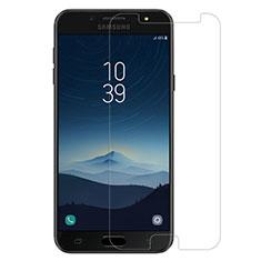 Schutzfolie Displayschutzfolie Panzerfolie Skins zum Aufkleben Gehärtetes Glas Glasfolie für Samsung Galaxy J7 Plus Klar