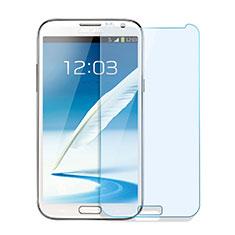 Schutzfolie Displayschutzfolie Panzerfolie Skins zum Aufkleben Gehärtetes Glas Glasfolie für Samsung Galaxy Note 2 N7100 N7105 Klar