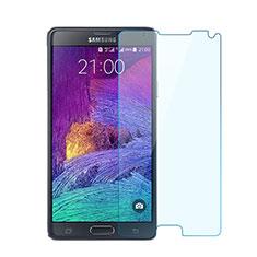 Schutzfolie Displayschutzfolie Panzerfolie Skins zum Aufkleben Gehärtetes Glas Glasfolie für Samsung Galaxy Note 4 Duos N9100 Dual SIM Klar