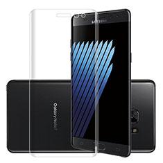 Schutzfolie Displayschutzfolie Panzerfolie Skins zum Aufkleben Gehärtetes Glas Glasfolie für Samsung Galaxy Note 7 Klar