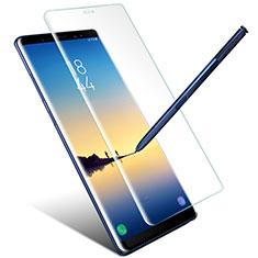 Schutzfolie Displayschutzfolie Panzerfolie Skins zum Aufkleben Gehärtetes Glas Glasfolie für Samsung Galaxy Note 8 Klar