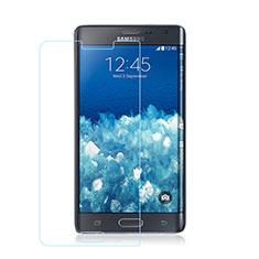 Schutzfolie Displayschutzfolie Panzerfolie Skins zum Aufkleben Gehärtetes Glas Glasfolie für Samsung Galaxy Note Edge SM-N915F Klar