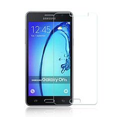 Schutzfolie Displayschutzfolie Panzerfolie Skins zum Aufkleben Gehärtetes Glas Glasfolie für Samsung Galaxy On5 G550FY Klar
