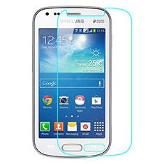 Schutzfolie Displayschutzfolie Panzerfolie Skins zum Aufkleben Gehärtetes Glas Glasfolie für Samsung Galaxy S3 Mini i8190 i8200 Klar