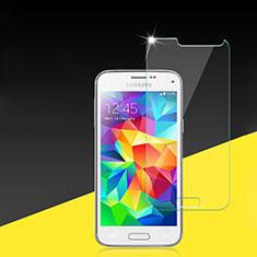Schutzfolie Displayschutzfolie Panzerfolie Skins zum Aufkleben Gehärtetes Glas Glasfolie für Samsung Galaxy S5 Mini G800F G800H Klar