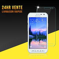 Schutzfolie Displayschutzfolie Panzerfolie Skins zum Aufkleben Gehärtetes Glas Glasfolie für Samsung Galaxy S6 Active G890 Klar