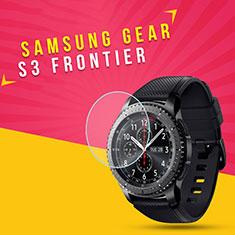 Schutzfolie Displayschutzfolie Panzerfolie Skins zum Aufkleben Gehärtetes Glas Glasfolie für Samsung Gear S3 Frontier LTE Klar