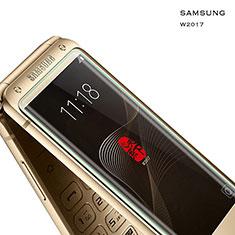 Schutzfolie Displayschutzfolie Panzerfolie Skins zum Aufkleben Gehärtetes Glas Glasfolie für Samsung W(2017) Klar