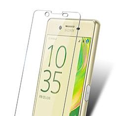 Schutzfolie Displayschutzfolie Panzerfolie Skins zum Aufkleben Gehärtetes Glas Glasfolie für Sony Xperia X Klar