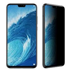 Schutzfolie Displayschutzfolie Panzerfolie Skins zum Aufkleben Gehärtetes Glas Glasfolie Privacy für Huawei Honor 8X Klar