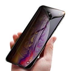 Schutzfolie Displayschutzfolie Panzerfolie Skins zum Aufkleben Gehärtetes Glas Glasfolie Privacy P01 für Apple iPhone Xs Klar