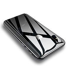 Schutzfolie Displayschutzfolie Panzerfolie Skins zum Aufkleben Gehärtetes Glas Glasfolie Rückseite P01 für Apple iPhone Xs Weiß