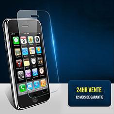 Schutzfolie Displayschutzfolie Panzerfolie Skins zum Aufkleben Gehärtetes Glas Glasfolie T01 für Apple iPhone 3G 3GS Klar
