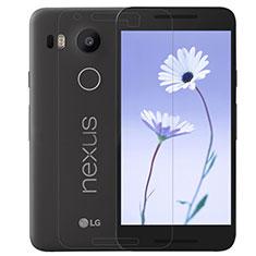 Schutzfolie Displayschutzfolie Panzerfolie Skins zum Aufkleben Gehärtetes Glas Glasfolie T01 für Google Nexus 5X Klar