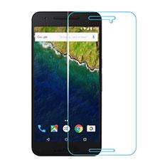 Schutzfolie Displayschutzfolie Panzerfolie Skins zum Aufkleben Gehärtetes Glas Glasfolie T01 für Google Nexus 6P Klar