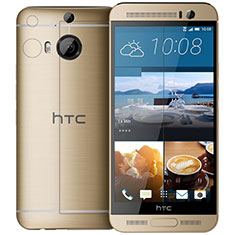 Schutzfolie Displayschutzfolie Panzerfolie Skins zum Aufkleben Gehärtetes Glas Glasfolie T01 für HTC One M9 Plus Klar