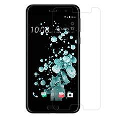 Schutzfolie Displayschutzfolie Panzerfolie Skins zum Aufkleben Gehärtetes Glas Glasfolie T01 für HTC U Play Klar