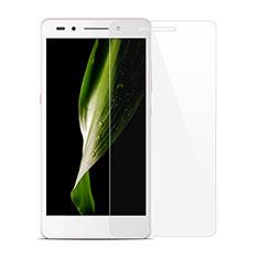 Schutzfolie Displayschutzfolie Panzerfolie Skins zum Aufkleben Gehärtetes Glas Glasfolie T01 für Huawei Honor 7 Dual SIM Klar