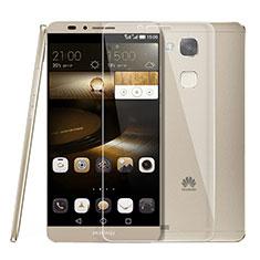 Schutzfolie Displayschutzfolie Panzerfolie Skins zum Aufkleben Gehärtetes Glas Glasfolie T01 für Huawei Mate 7 Klar
