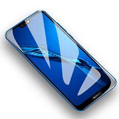 Schutzfolie Displayschutzfolie Panzerfolie Skins zum Aufkleben Gehärtetes Glas Glasfolie T01 für Huawei P20 Lite Klar