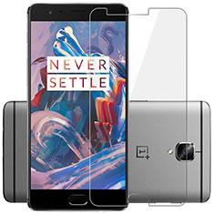 Schutzfolie Displayschutzfolie Panzerfolie Skins zum Aufkleben Gehärtetes Glas Glasfolie T01 für OnePlus 3 Klar