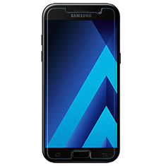 Schutzfolie Displayschutzfolie Panzerfolie Skins zum Aufkleben Gehärtetes Glas Glasfolie T01 für Samsung Galaxy A3 (2017) SM-A320F Klar
