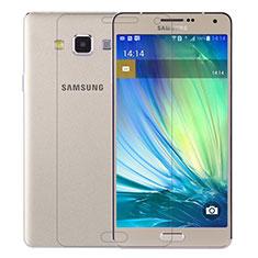 Schutzfolie Displayschutzfolie Panzerfolie Skins zum Aufkleben Gehärtetes Glas Glasfolie T01 für Samsung Galaxy A7 SM-A700 Klar