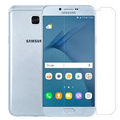 Schutzfolie Displayschutzfolie Panzerfolie Skins zum Aufkleben Gehärtetes Glas Glasfolie T01 für Samsung Galaxy A8 (2016) A8100 A810F Klar