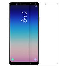 Schutzfolie Displayschutzfolie Panzerfolie Skins zum Aufkleben Gehärtetes Glas Glasfolie T01 für Samsung Galaxy A8 Star Klar