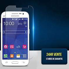 Schutzfolie Displayschutzfolie Panzerfolie Skins zum Aufkleben Gehärtetes Glas Glasfolie T01 für Samsung Galaxy Core Prime G360F G360GY Klar