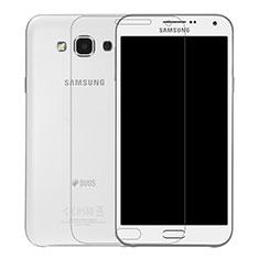 Schutzfolie Displayschutzfolie Panzerfolie Skins zum Aufkleben Gehärtetes Glas Glasfolie T01 für Samsung Galaxy E7 SM-E700 E7000 Klar