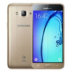 Schutzfolie Displayschutzfolie Panzerfolie Skins zum Aufkleben Gehärtetes Glas Glasfolie T01 für Samsung Galaxy J3 (2016) J320F J3109 Klar