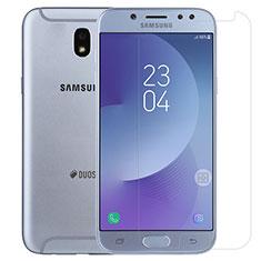 Schutzfolie Displayschutzfolie Panzerfolie Skins zum Aufkleben Gehärtetes Glas Glasfolie T01 für Samsung Galaxy J5 (2017) SM-J750F Klar