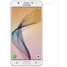 Schutzfolie Displayschutzfolie Panzerfolie Skins zum Aufkleben Gehärtetes Glas Glasfolie T01 für Samsung Galaxy J5 Prime G570F Klar