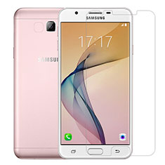 Schutzfolie Displayschutzfolie Panzerfolie Skins zum Aufkleben Gehärtetes Glas Glasfolie T01 für Samsung Galaxy J7 Prime Klar