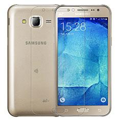 Schutzfolie Displayschutzfolie Panzerfolie Skins zum Aufkleben Gehärtetes Glas Glasfolie T01 für Samsung Galaxy J7 SM-J700F J700H Klar