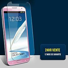 Schutzfolie Displayschutzfolie Panzerfolie Skins zum Aufkleben Gehärtetes Glas Glasfolie T01 für Samsung Galaxy Note 2 N7100 N7105 Klar