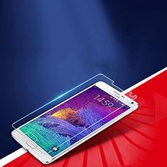 Schutzfolie Displayschutzfolie Panzerfolie Skins zum Aufkleben Gehärtetes Glas Glasfolie T01 für Samsung Galaxy Note 4 Duos N9100 Dual SIM Klar