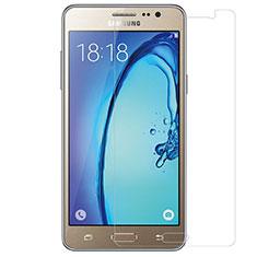 Schutzfolie Displayschutzfolie Panzerfolie Skins zum Aufkleben Gehärtetes Glas Glasfolie T01 für Samsung Galaxy On5 Pro Klar