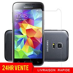 Schutzfolie Displayschutzfolie Panzerfolie Skins zum Aufkleben Gehärtetes Glas Glasfolie T01 für Samsung Galaxy S5 Mini G800F G800H Klar