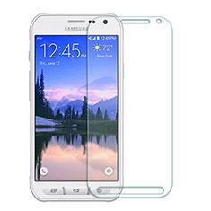 Schutzfolie Displayschutzfolie Panzerfolie Skins zum Aufkleben Gehärtetes Glas Glasfolie T01 für Samsung Galaxy S6 Active G890 Klar