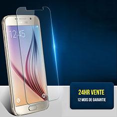 Schutzfolie Displayschutzfolie Panzerfolie Skins zum Aufkleben Gehärtetes Glas Glasfolie T01 für Samsung Galaxy S6 SM-G920 Klar