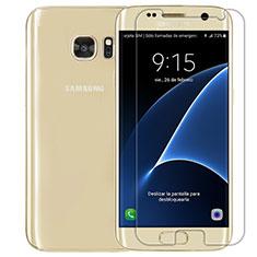 Schutzfolie Displayschutzfolie Panzerfolie Skins zum Aufkleben Gehärtetes Glas Glasfolie T01 für Samsung Galaxy S7 G930F G930FD Klar
