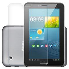 Schutzfolie Displayschutzfolie Panzerfolie Skins zum Aufkleben Gehärtetes Glas Glasfolie T01 für Samsung Galaxy Tab 2 7.0 P3100 P3110 Klar