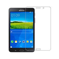 Schutzfolie Displayschutzfolie Panzerfolie Skins zum Aufkleben Gehärtetes Glas Glasfolie T01 für Samsung Galaxy Tab 4 7.0 SM-T230 T231 T235 Klar