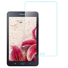 Schutzfolie Displayschutzfolie Panzerfolie Skins zum Aufkleben Gehärtetes Glas Glasfolie T01 für Samsung Galaxy Tab A6 7.0 SM-T280 SM-T285 Klar