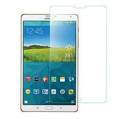 Schutzfolie Displayschutzfolie Panzerfolie Skins zum Aufkleben Gehärtetes Glas Glasfolie T01 für Samsung Galaxy Tab S 8.4 SM-T700 Klar