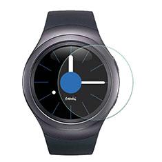 Schutzfolie Displayschutzfolie Panzerfolie Skins zum Aufkleben Gehärtetes Glas Glasfolie T01 für Samsung Gear S2 3G R730 Klar